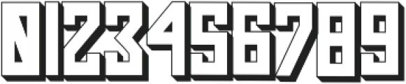 Pasatona Shadow otf (400) Font OTHER CHARS