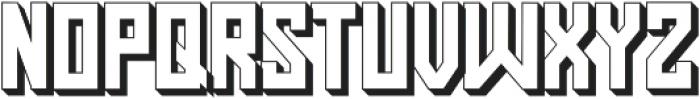 Pasatona Shadow otf (400) Font UPPERCASE
