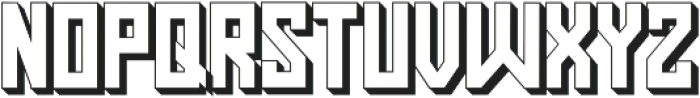 Pasatona Shadow otf (400) Font LOWERCASE
