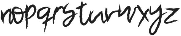 Pasco Regular otf (400) Font LOWERCASE