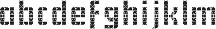 Pass T otf (400) Font LOWERCASE