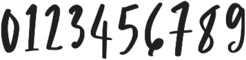 Passion Regular otf (400) Font OTHER CHARS