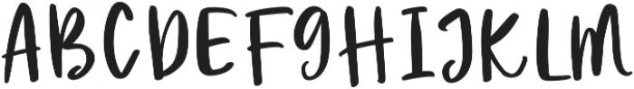 Passion Regular otf (400) Font UPPERCASE