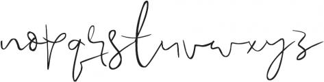 Passionfruits otf (400) Font LOWERCASE