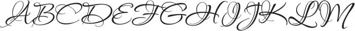 PassionsConflict Regular otf (400) Font UPPERCASE