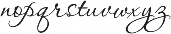 PassionsConflict Regular otf (400) Font LOWERCASE