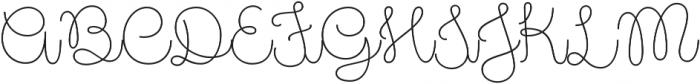 Pasta Script Spaghetti otf (400) Font UPPERCASE