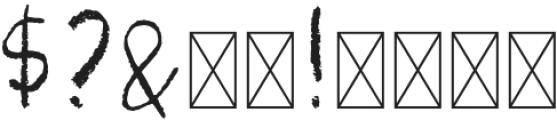 Pastel Brush Regular otf (400) Font OTHER CHARS