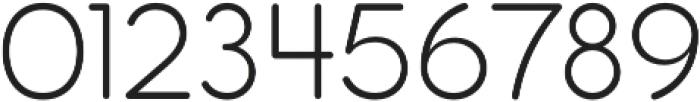 Pastrami Light otf (300) Font OTHER CHARS