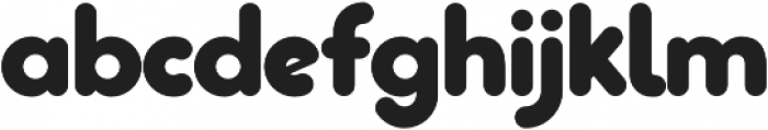 Pastrami Super otf (400) Font LOWERCASE