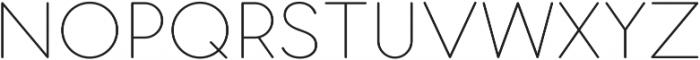 Pastrami Thin otf (100) Font UPPERCASE