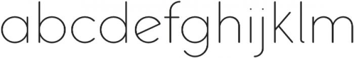 Pastrami Thin otf (100) Font LOWERCASE