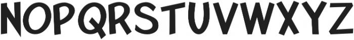 Pastura Bold otf (700) Font UPPERCASE