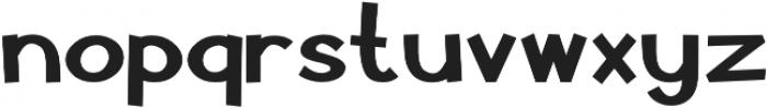 Pastura Bold otf (700) Font LOWERCASE