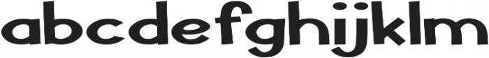 Pastura Expanded Bold otf (700) Font LOWERCASE