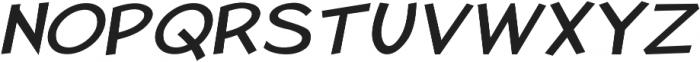 Pastura Expanded Italic otf (400) Font UPPERCASE