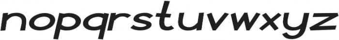 Pastura Expanded Italic otf (400) Font LOWERCASE