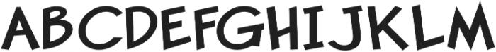 Pastura Expanded Regular otf (400) Font UPPERCASE
