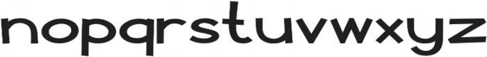 Pastura Expanded Regular otf (400) Font LOWERCASE