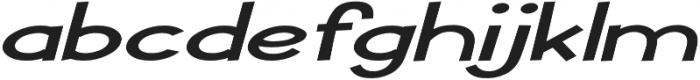 Pastura Extra-expanded Italic otf (400) Font LOWERCASE