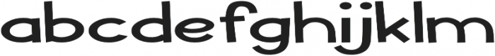 Pastura Extra-expanded Regular otf (400) Font LOWERCASE