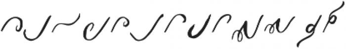 Patarana Script Extra Regular ttf (400) Font LOWERCASE