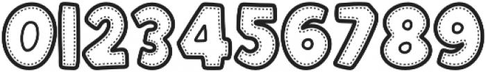 Patchwork Regular Font otf (400) Font OTHER CHARS