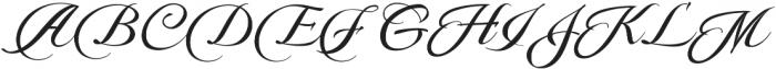 Pateglamt Script otf (400) Font UPPERCASE