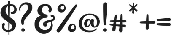 PaulaMatildaRegular otf (400) Font OTHER CHARS