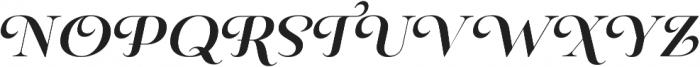Pauline Didone Bold Italic otf (700) Font UPPERCASE