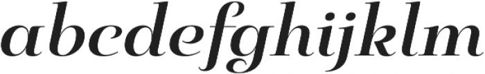 Pauline Didone Bold Italic otf (700) Font LOWERCASE