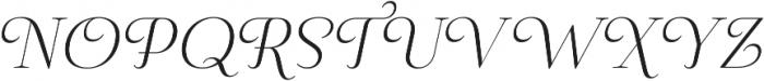 Pauline Didone Light Italic otf (300) Font UPPERCASE