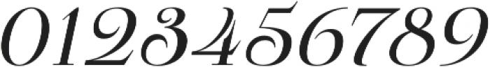 Pauline Didone Regular Italic otf (400) Font OTHER CHARS