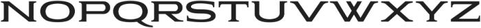 Pauraque_Serif_Clean ttf (400) Font UPPERCASE