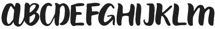 Paxton Regular otf (400) Font UPPERCASE