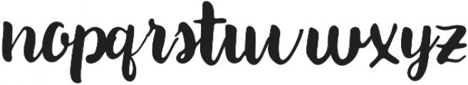 Paxton Regular otf (400) Font LOWERCASE
