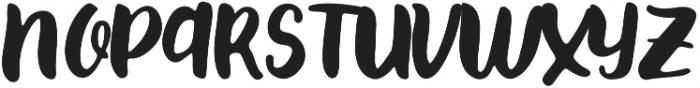 Paxton Regular ttf (400) Font UPPERCASE