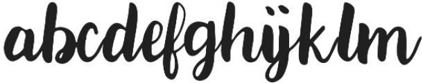 Paxton Regular ttf (400) Font LOWERCASE