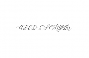Pandora.ttf Font UPPERCASE