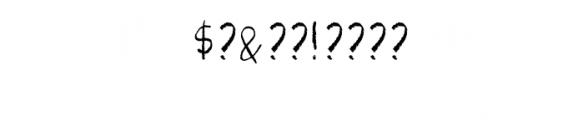 Pastel SVG Font OTHER CHARS