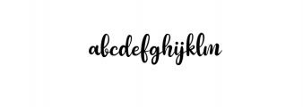 Paula Matilda Font Font LOWERCASE