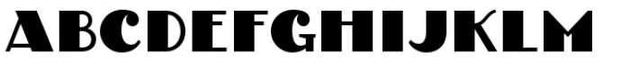 PAG Tekov Font UPPERCASE
