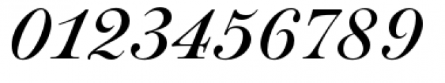 Paganini Italic Font OTHER CHARS