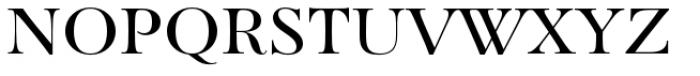 Paganini Regular Font UPPERCASE