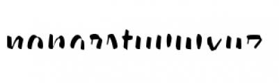 Paintlay Light Two Font LOWERCASE