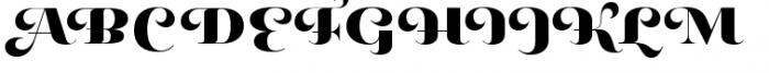Pauline Didone Black Font UPPERCASE