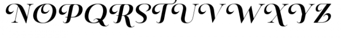 Pauline Didone Bold Italic Font UPPERCASE