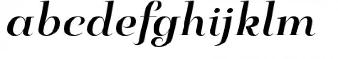 Pauline Didone Bold Italic Font LOWERCASE