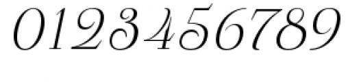 Pauline Didone Light Italic Font OTHER CHARS
