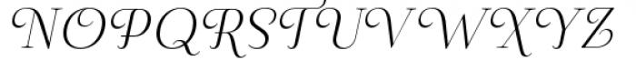 Pauline Didone Light Italic Font UPPERCASE